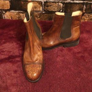 Tanino Crisci Leather Boots 36